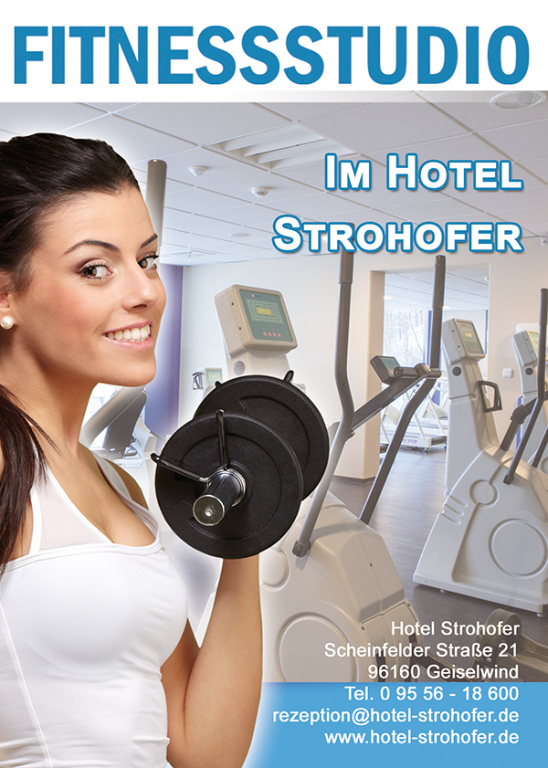 Fitness-Studio im Hotel Strohofer